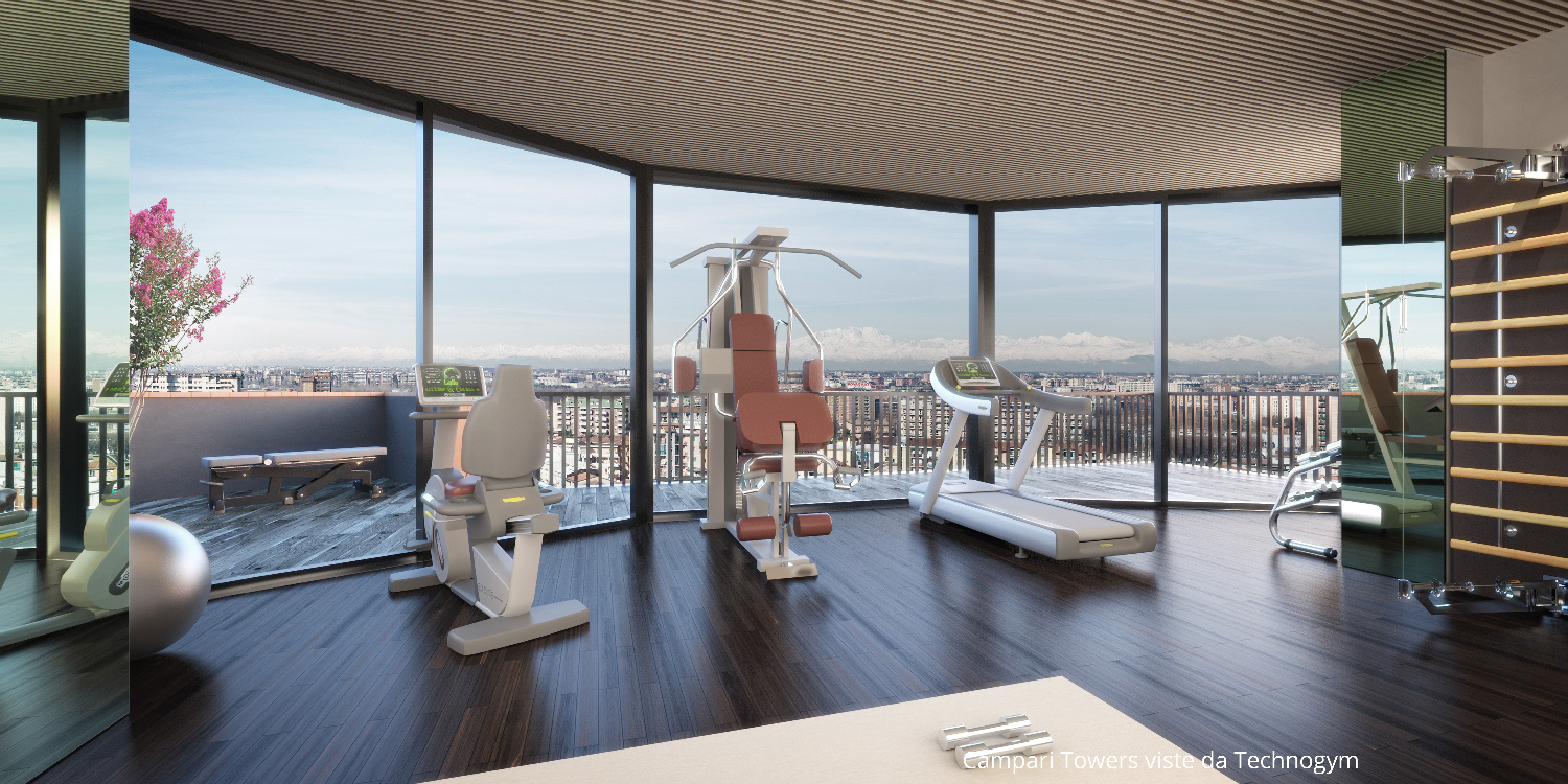 Penthouses in Milan - Campari Towers