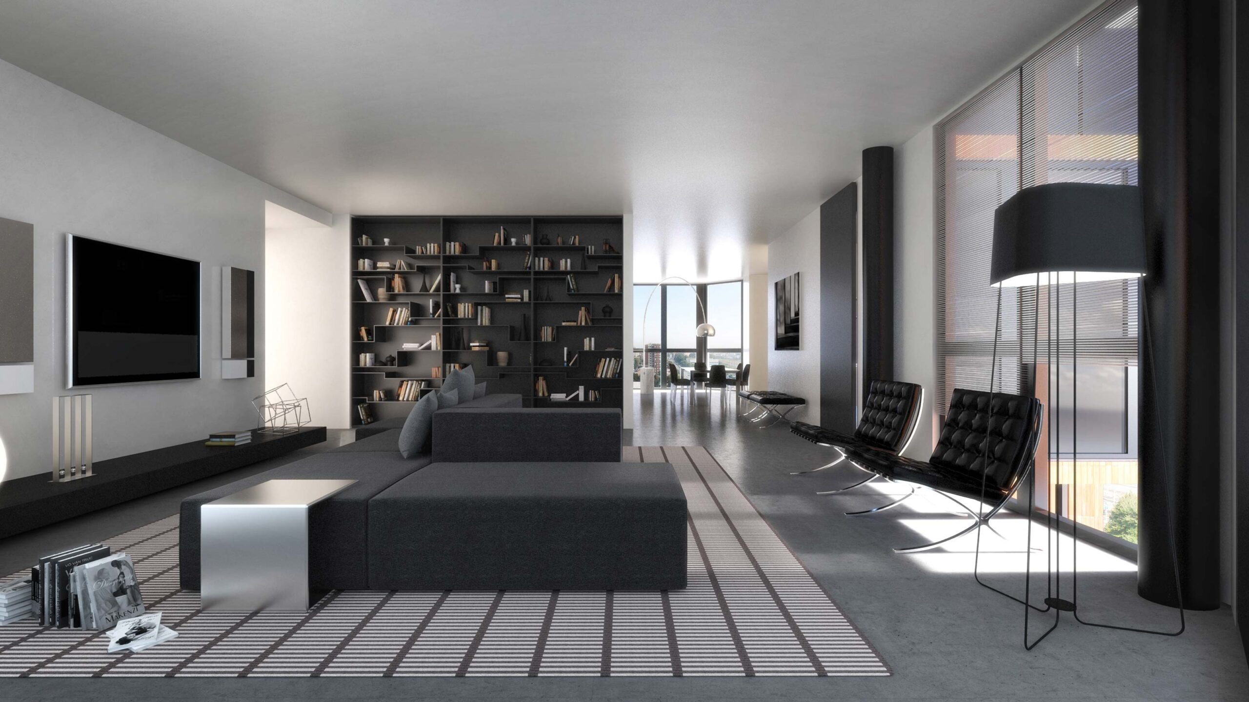 3D Virtual Tour - Penthouses in Milan - Campari Towers